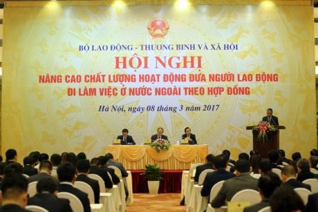 着力提高越南对外输出劳务素质 hinh anh 1