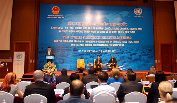 欧亚各国分享海关工作经验 共谋促进过境贸易合作 hinh anh 1