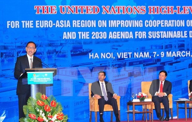 联合国欧亚地区关于贸易便利化峰会:大力推动国际贸易便利化进程 hinh anh 1