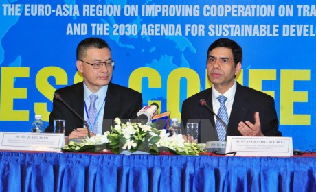 欧亚各国努力为贸易便利化与推动地区合作创造便利条件 hinh anh 1
