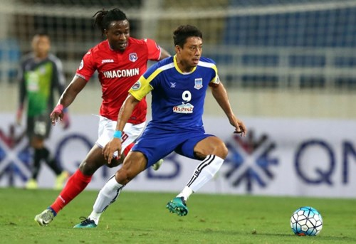 AFC Cup 2017:广宁煤炭队获平 hinh anh 1