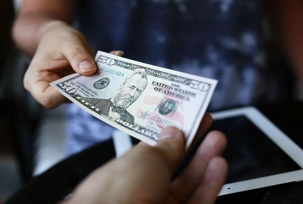10日越盾兑美元中心汇率较前一日上涨5越盾 hinh anh 1