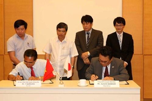 日本继续向越南5个项目提供无偿援助资金 hinh anh 1