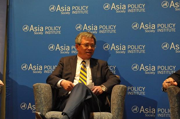 越南驻美国大使范光荣:各国应坚定支持自由贸易 促进区域合作 hinh anh 1