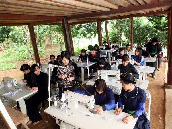越南代表出席联合国妇女地位委员会第61届会议 承诺推动性别平等 hinh anh 1