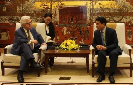 希腊驻越南大使: 当今是雅典与河内扩大合作的最佳时机 hinh anh 1
