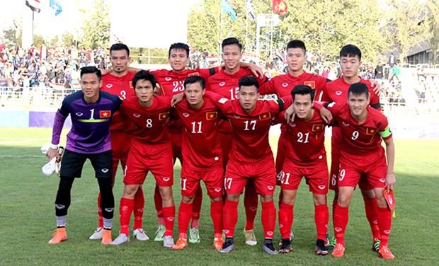 FIFA最新排名:越南国家足球队稳居东南亚第三位 hinh anh 1
