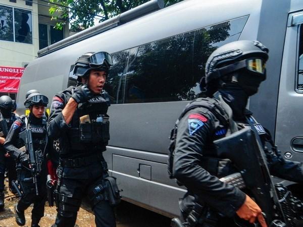 印尼将在各重要基地加强安全措施 hinh anh 1