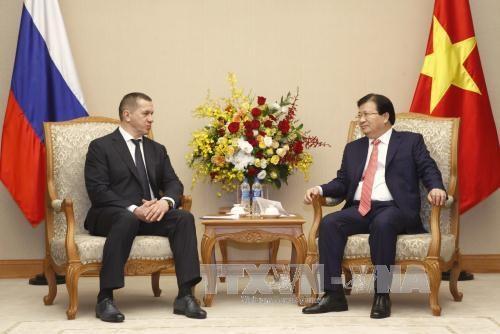 越俄采取措施 加强双方经贸投资合作 hinh anh 1