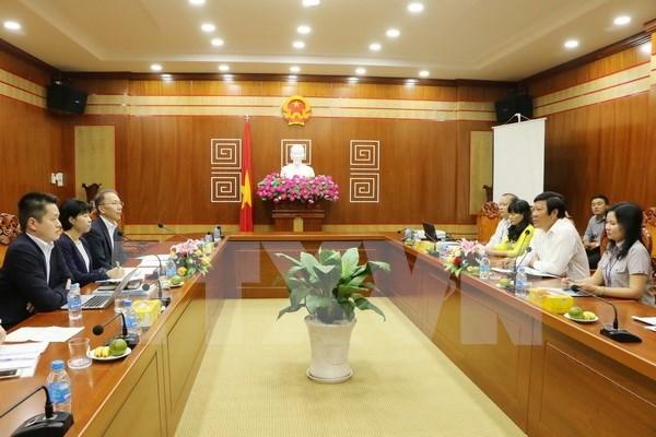 越南朔庄省与日本合作发展清洁农业 hinh anh 1