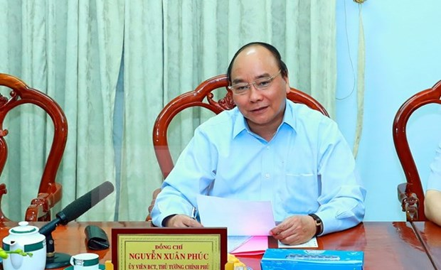 阮春福总理:安江省应关注提高出口粮食质量与附加值 hinh anh 1