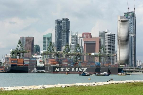 新加坡上调2017年经济增长预测 hinh anh 1