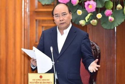 阮春福总理:大力吸引民间资本投入交通运输领域 hinh anh 1