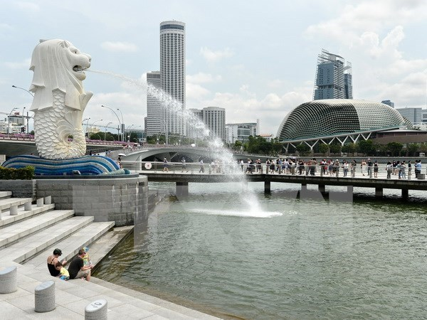 新加坡居民失业率呈现增长势头 hinh anh 1