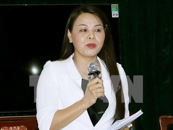 越南妇联主席:强烈谴责猥亵儿童的一切行为 hinh anh 1