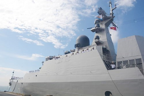 越南海军首次派军舰参加兰卡威国际海事与航空航天展 hinh anh 1