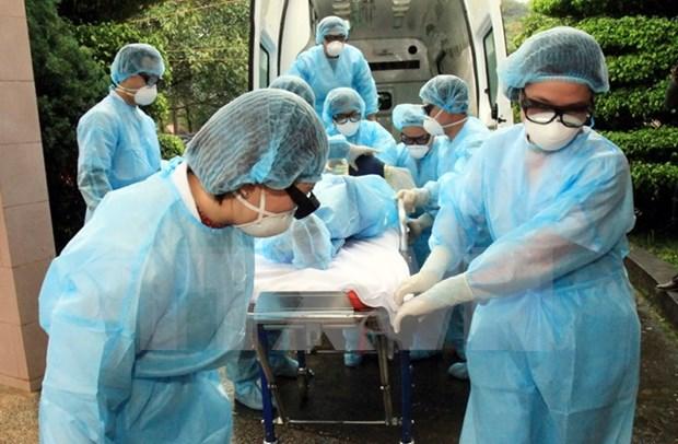 越南谅山省举行人感染禽流感应急处置演练 hinh anh 1