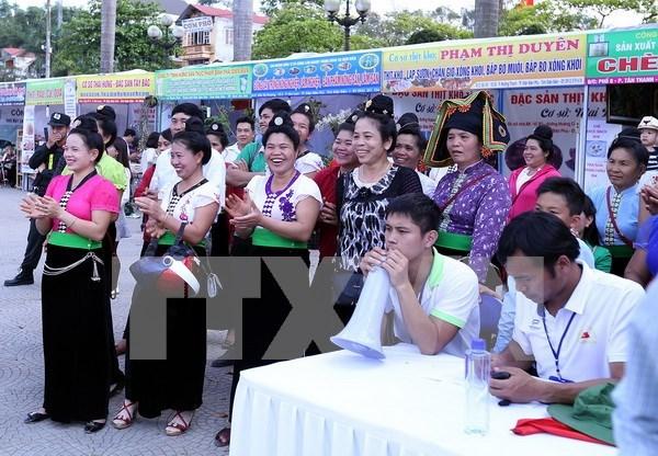 第三次羊蹄甲花佛教节在奠边省举行 hinh anh 1