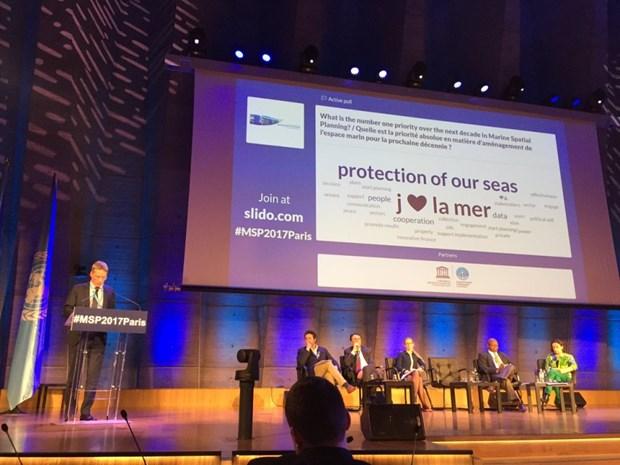 海洋空间规划国际会议: 海洋空间规划走向绿色可持续增长 hinh anh 1