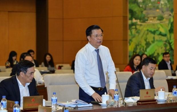 越南国会常委会讨论《公债管理法修正案(草案)》 hinh anh 1
