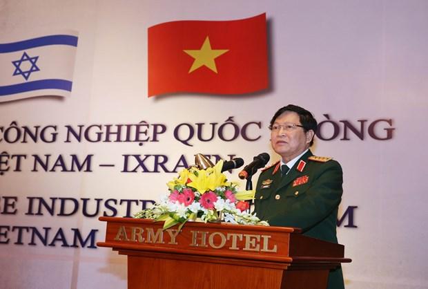 第一次越以国防工业论坛在河内举行 hinh anh 1