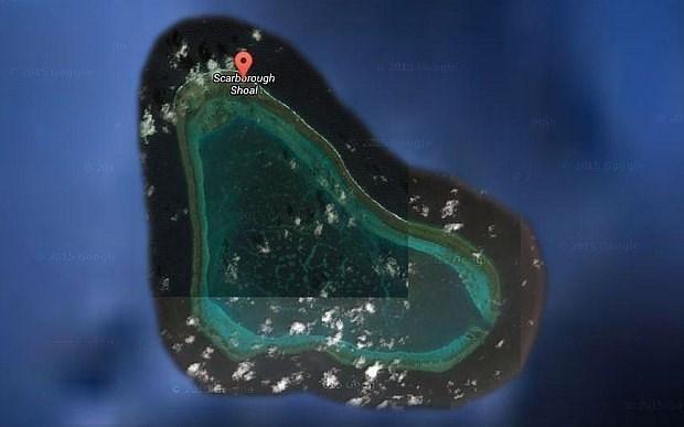 菲律宾拟就斯卡伯勒浅滩环境监测站建设计划向中国提出抗议 hinh anh 1