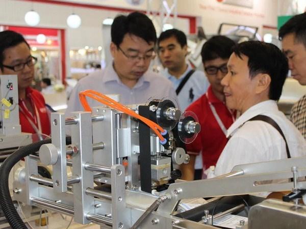 28个国家和地区参加2017越南国际食品饮料、加工及包装技术展 hinh anh 1