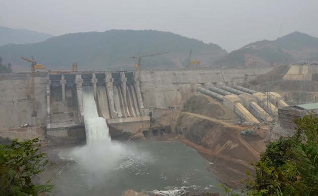 清化省中山水电厂2号机组并网成功 hinh anh 1