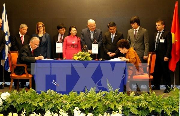 越以两国企业合作开展高科技保健与医疗联合体项目 hinh anh 1