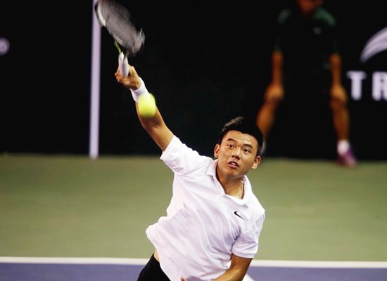 2017年日本男网F3未来赛:李黄南晋级男单1/4决赛 hinh anh 1