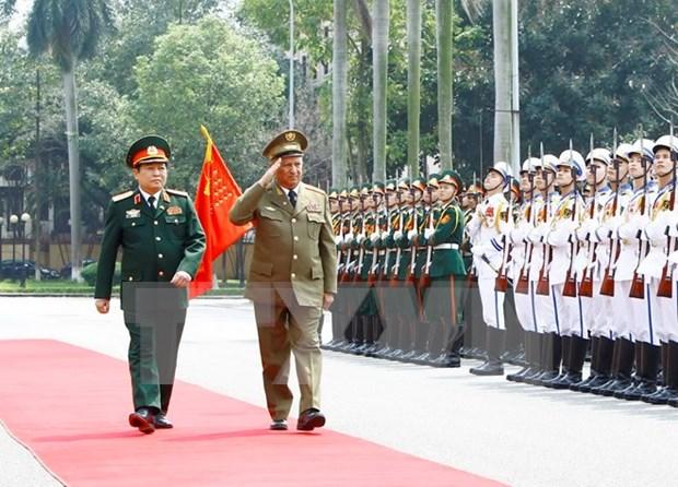 越南与古巴两国军队推进双边合作 hinh anh 1