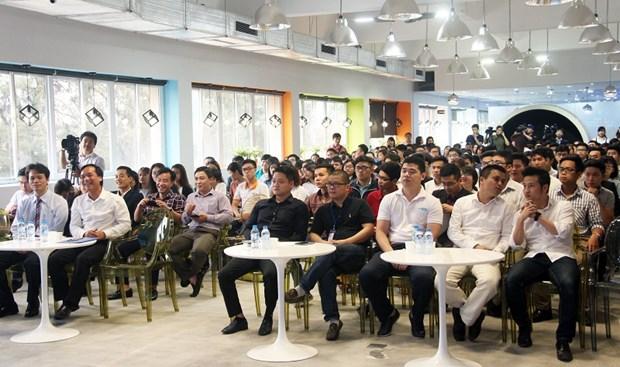 热闹非凡的2017年大学生创新创业节 hinh anh 1
