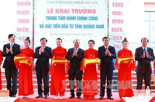 """阮春福总理:广南省在投资活动中需实现国家、投资者和人民""""三方互惠共赢"""" hinh anh 2"""