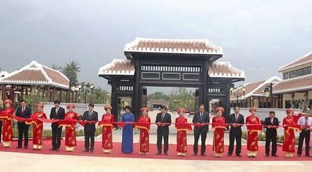 越南国务委员会主席武志公纪念区正式竣工 hinh anh 1