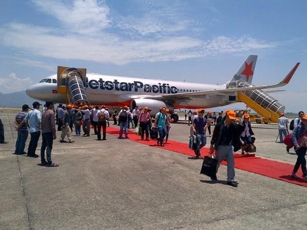 捷星正式开通从越南香港市至中国香港的直达航线 hinh anh 1