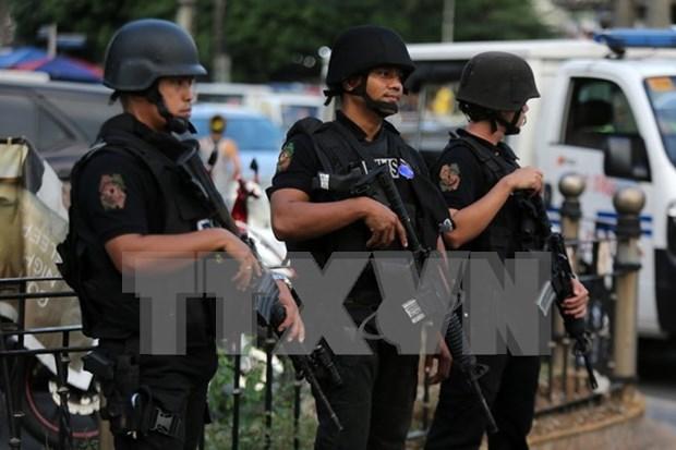菲律宾手榴弹爆炸 已致4死23伤 hinh anh 1