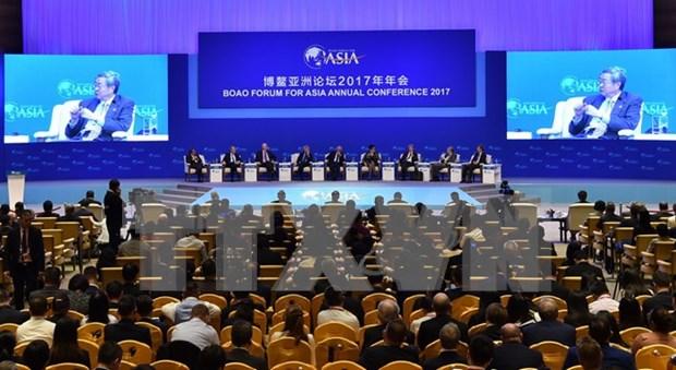 博鳌亚洲论坛2017年年会闭幕 发布促进经济全球化宣言 hinh anh 1