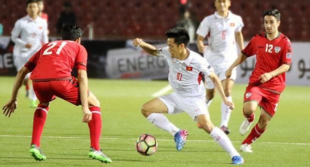 2019年亚洲杯预选赛:越南队与阿富汗队以1-1战平 hinh anh 1