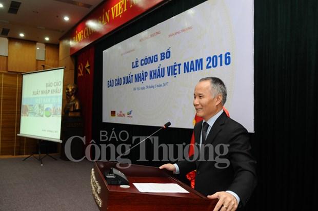 2016年越南进出口报告出炉 出口增速保持在9%的水平 hinh anh 2