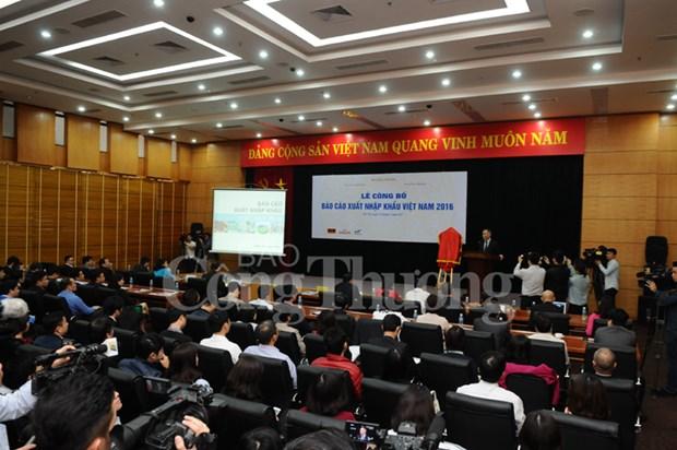 2016年越南进出口报告出炉 出口增速保持在9%的水平 hinh anh 3