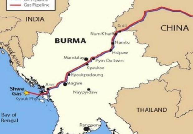 中国缅甸新输油管道开通延迟 hinh anh 1