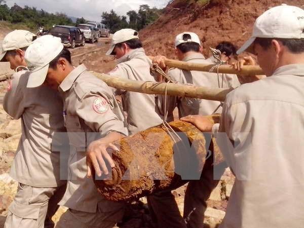 越南努力做好战后遗留爆炸物处理工作 hinh anh 1