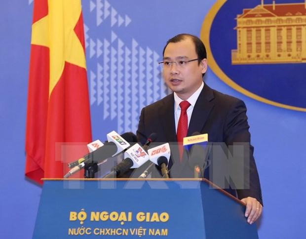 越南反对中国台湾在越南长沙群岛巴平岛的侵权行为 hinh anh 1