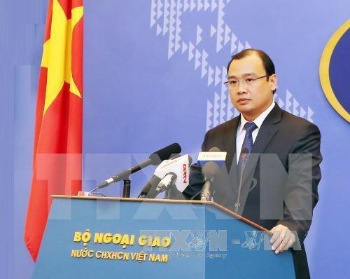 外交部发言人黎海平:有关各方需尊重越南主权 hinh anh 1