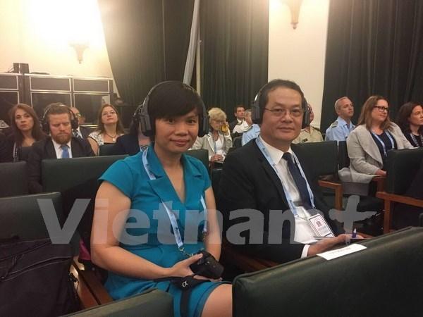 越南出席在阿根廷举行的国际学校安全会议 hinh anh 1