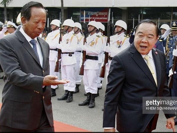 泰国与柬埔寨拟设立两国国防部间的热线 hinh anh 1
