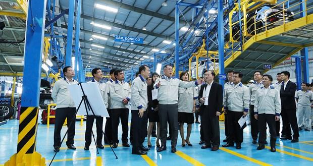 越南成功现代汽车公司与韩国现代汽车集团达成合作 hinh anh 1