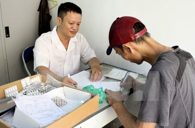 胡志明市70%艾滋病患者参加医保 hinh anh 1
