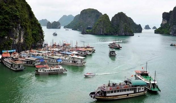 2017年第一季度广宁省接待游客人数达376.9万人次 hinh anh 1