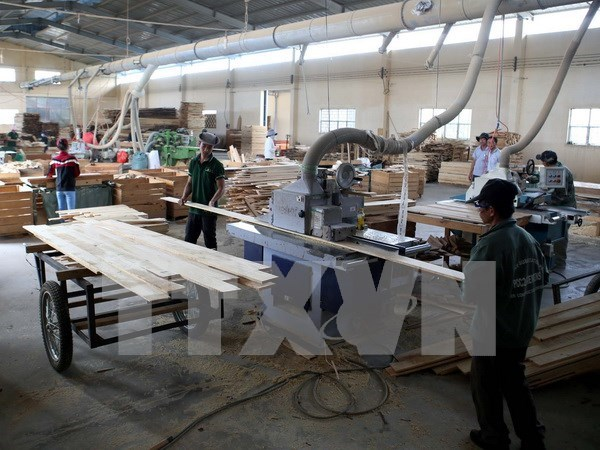 2017年第一季度越南工业生产指数增长4.1% hinh anh 1